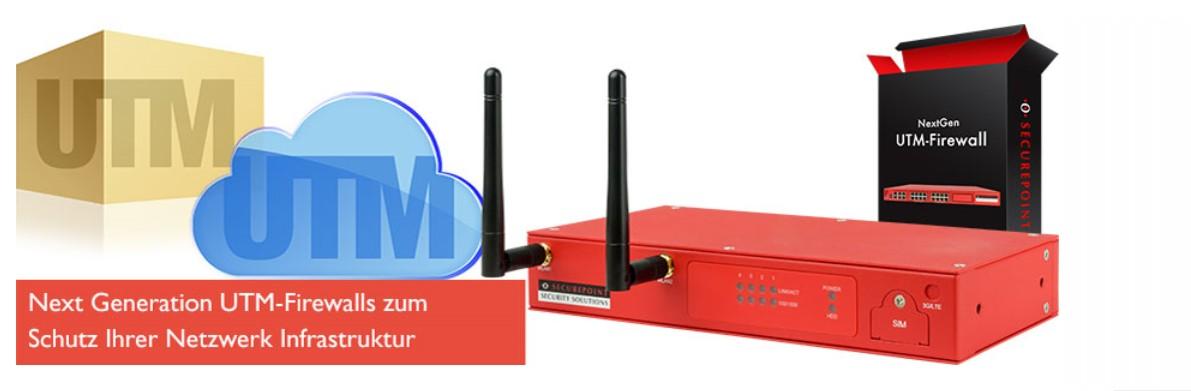 Sichere Firewall VPN Internetzugang